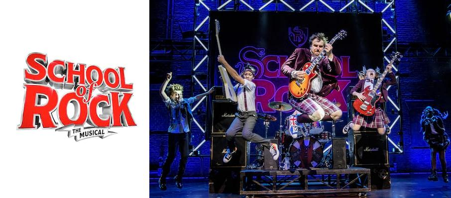 The School of Rock at Mayflower Theatre