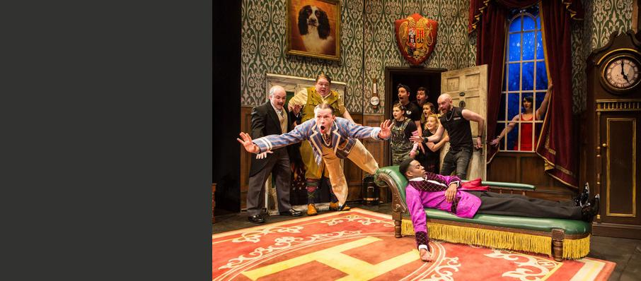 The Play That Goes Wrong, Duchess Theatre, Southampton